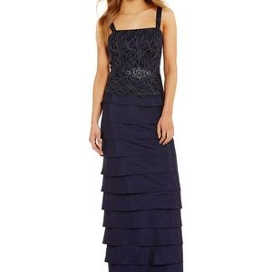 35759d54 Jessica Howard Dresses - Jessica Howard Petite Lace Tiered 2-Piece Dress